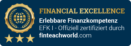 Siegel: Financial Excellence - Finteachworld | Rentenexperte Michael Ringeisen | Altersversorgung | Honorarberatung